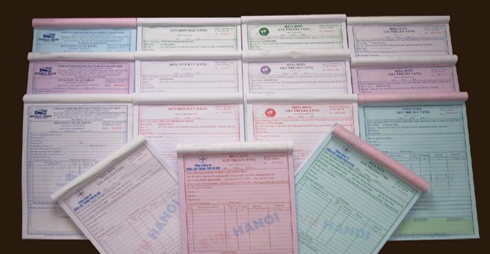 In hóa đơn tại Hà Nội nhanh chóng